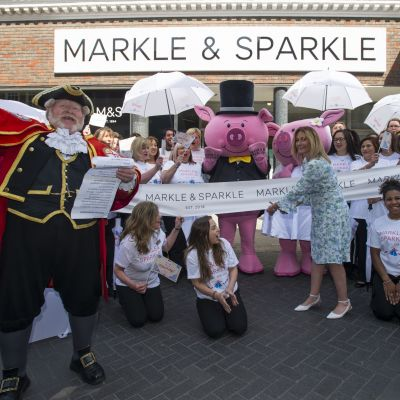 """Markle & Sparkle""-Aktionen in Marks & Spencer-Filialen"