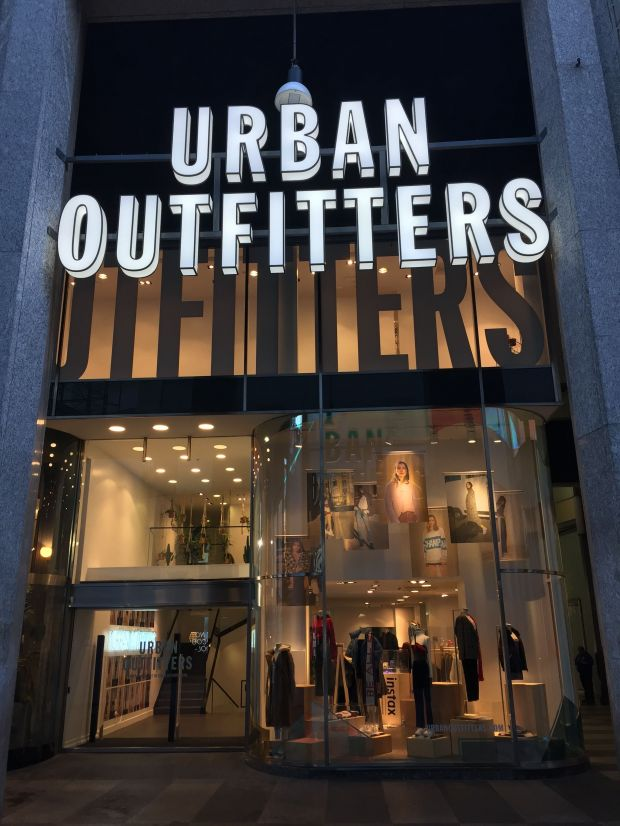 Urban Outfitters-Store in Mailand.