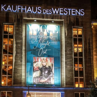 Vogue Fashion Night Out im Berliner Kaufhaus des Westens (KaDeWe).