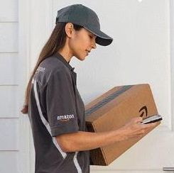 Amazon-Paketbote