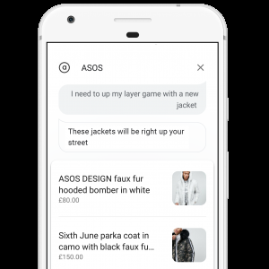 Asos Google Assistant