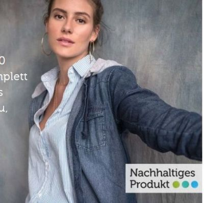 Bonprix hebt in der Sustainability-Week bis 19. September Fair Fashion besonders hervor.