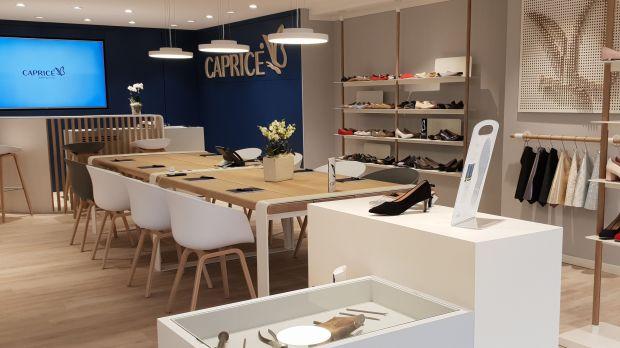 buy popular 2052e 75e83 Schuhanbieter: Neues Showroom-Konzept für Caprice