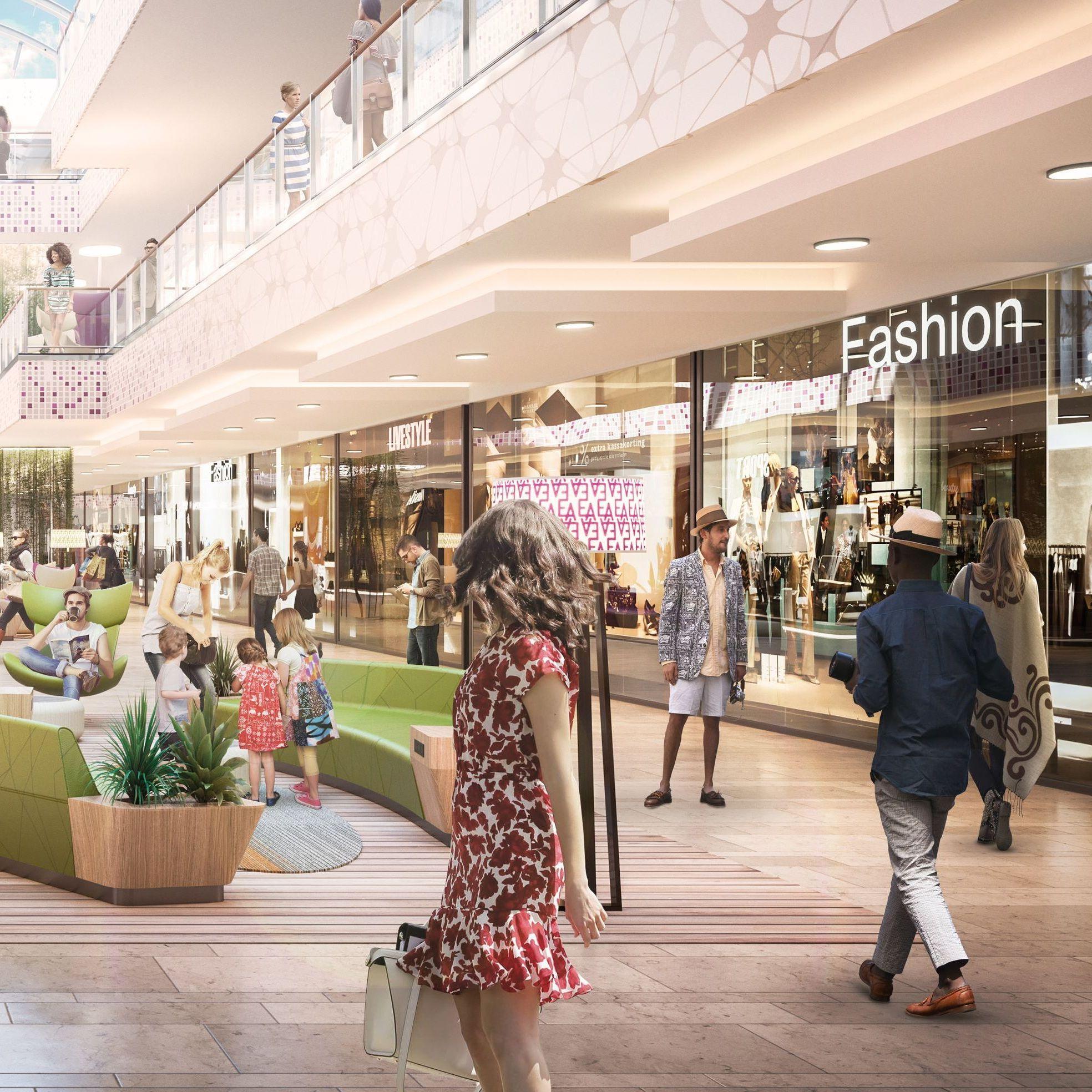 Shopping Center Ece Und Otto Familie Bauen Ernst August Galerie Um