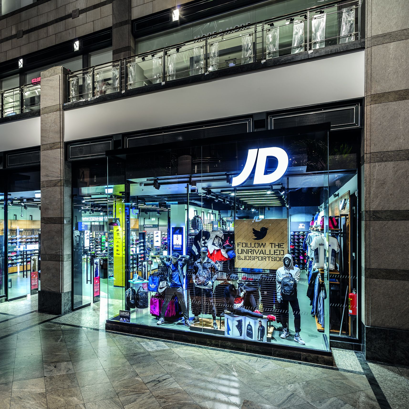 Neue Expansions Strategie: JD Sports führt