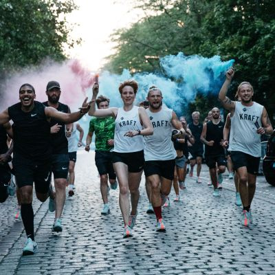 Nike-Event in Berlin zum Launch des Zoom Pegasus Turbo mit den Kraft Runners.