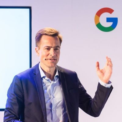 Philipp Justus, Vice President Central Europe bei Google.