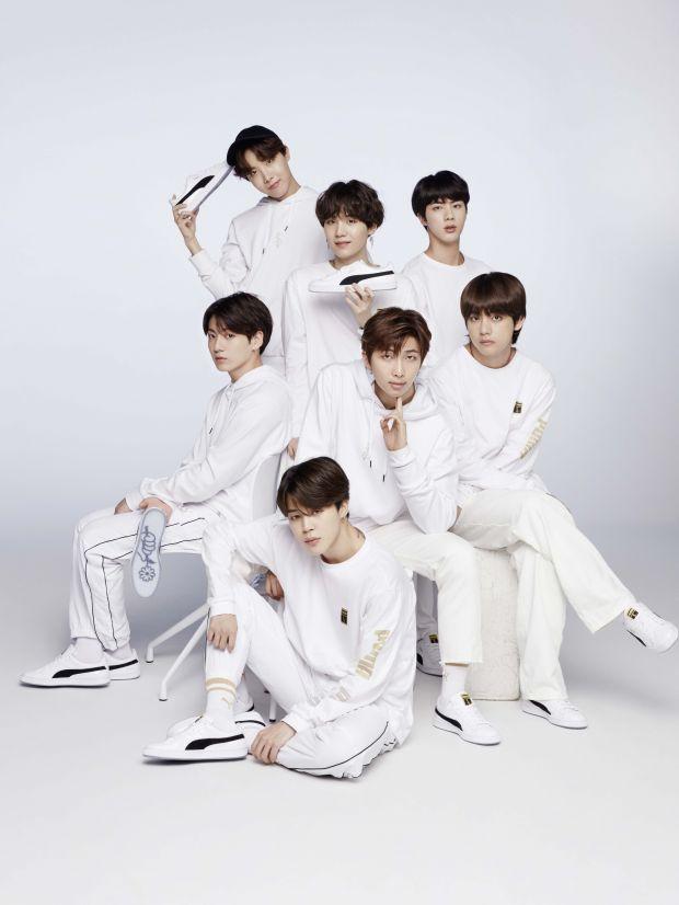 Sneaker Release: Puma kooperiert mit Boygroup BTS