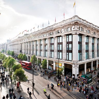 Selfridges an der Oxfordstreet