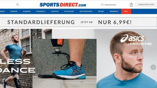 Kids Footwear Sale auf Sports Direct Austria