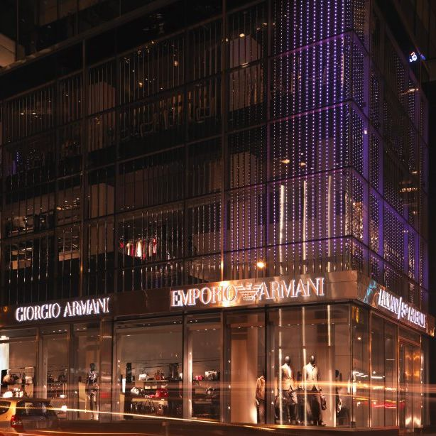 Armani-Laden in New York