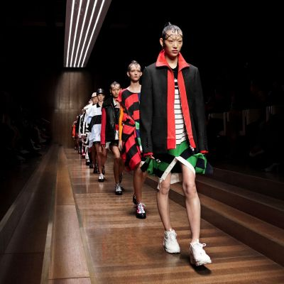 Burberry ist eines der Highlights der London Fashion Week