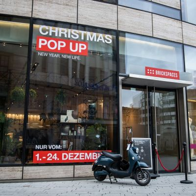 Christmas-Pop-up-Store von Brickspaces im Kö-Bogen in Düsseldorf