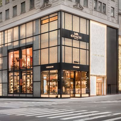 Coach-Store in der Fifth Avenue in New York