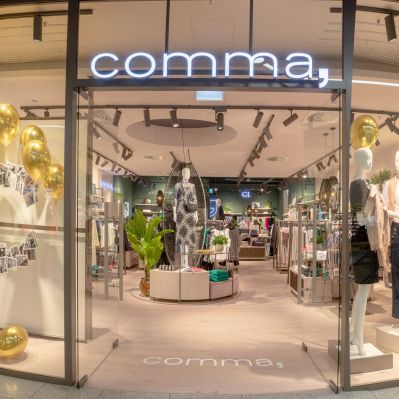 Comma-Store im Lago Shopping-Center Konstanz
