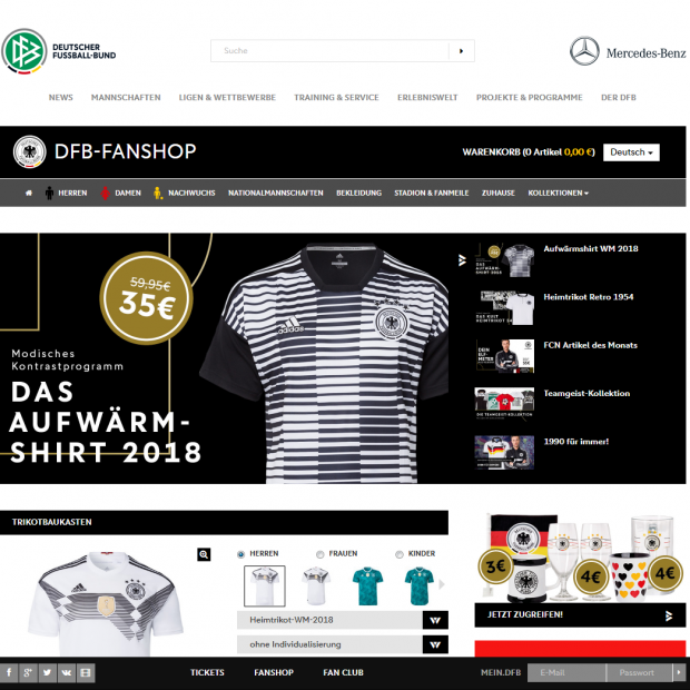 Merchandising: Fanatics übernimmt DFB Merchandising