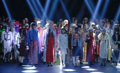 Großes Theater: Gucci präsentierte im September im Theater Le Palace in Paris.