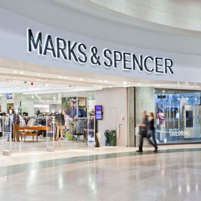 Marks & Spencer-Store im Shopping-Center Bluewater in Dartford