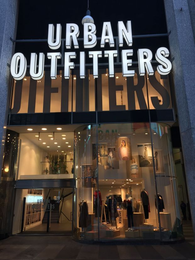 Urban Outfitters-Store in Mailand
