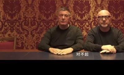 Videobotschaft  Stefano Gabbana und Domenico Dolce 106a8950f85