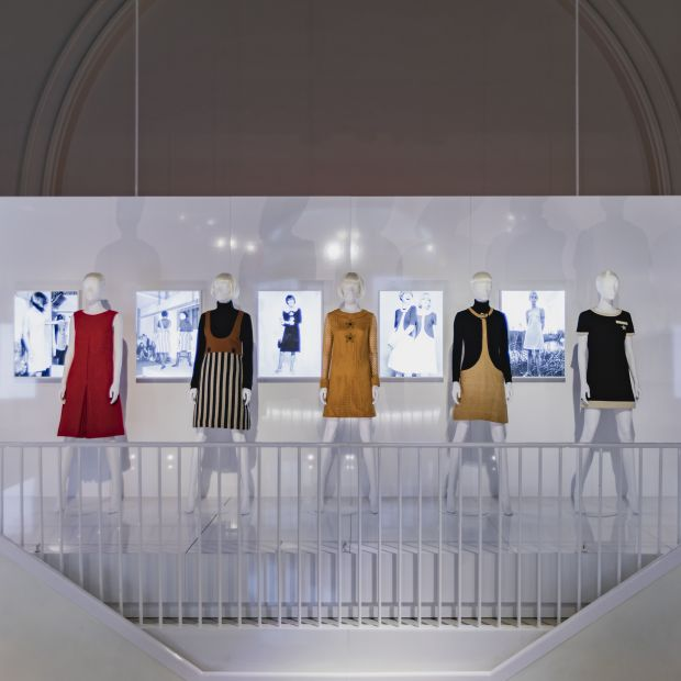Mary Quant im Victoria & Albert Museum, London