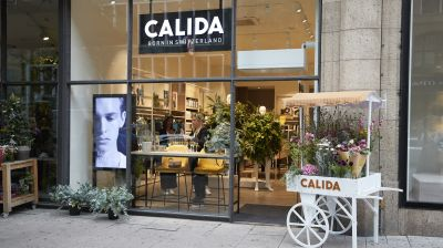 Calidas neuer Flagship in Hamburg