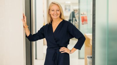 Claudia Lanius, CEO und Chef-Designerin des Labels Lanius