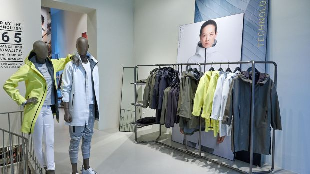 Der Wolfskin Tech Lab-Pop up-Showroom in Berlin