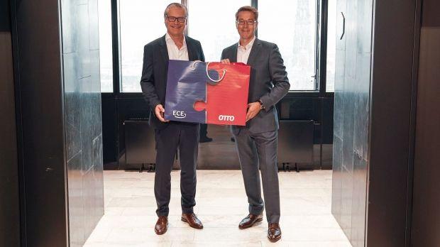 ECE-CEO Alexander Otto und Alexander Birken Vorstandschef der Otto Group