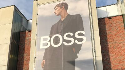 Hugo Boss-Outlet in der Outletcity Metzingen