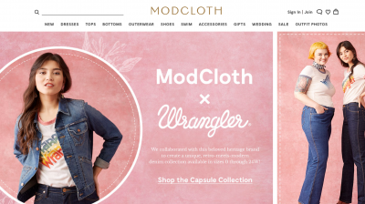 Website ModCloth