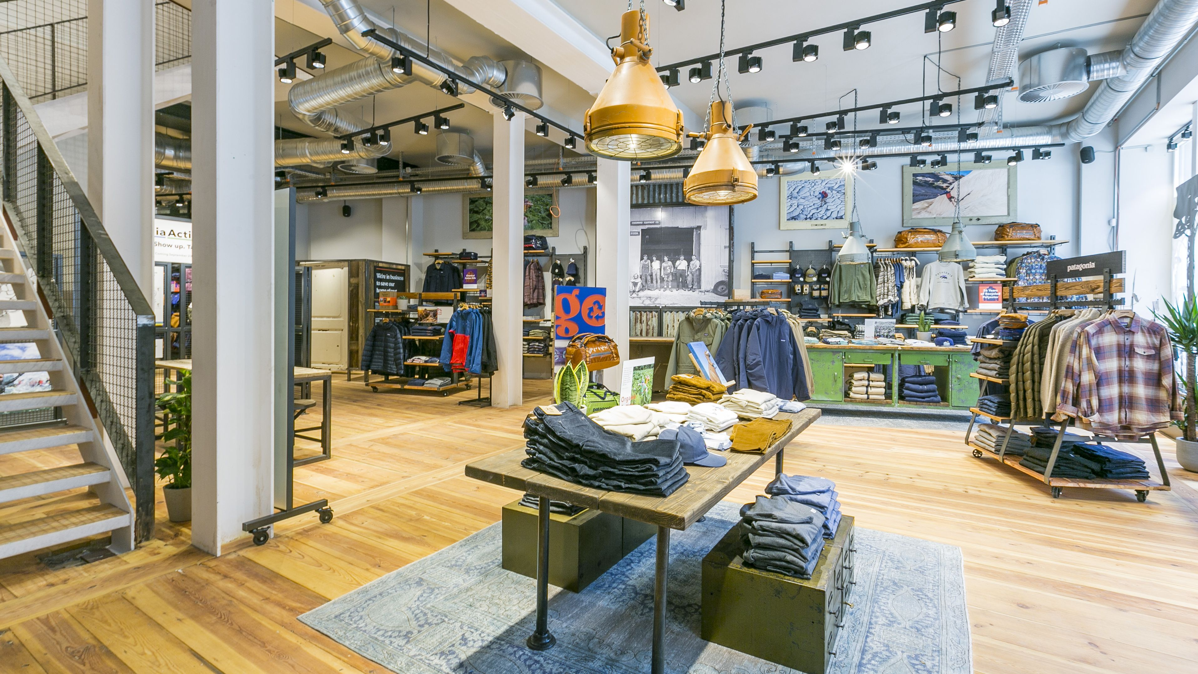 online store 50fe3 d7f11 Store des Tages Herbst 2019: Patagonia in Berlin: Wanderlust ...