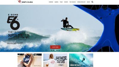 Rip Curl-Onlineshop