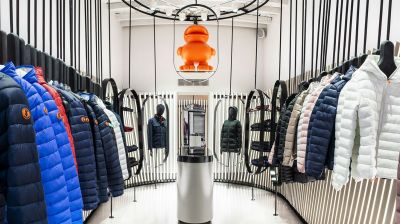 Save the Duck: Store auf der Via Solferino in Mailand