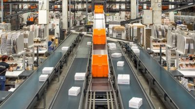 Zalando-Logistikzentrum in Erfurt
