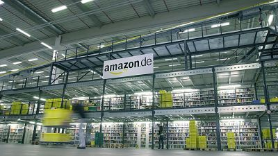 Amazon-Logistikzentrum in Bad Hersfeld