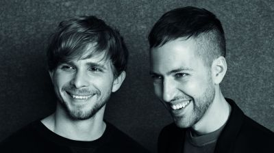 Das Designer-Duo Christopher de Vos und Peter Pilotto