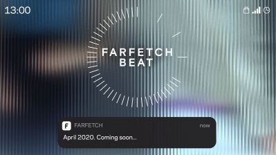 Farfetch kündigt die neue globale Drop-Strategie Farfetch Beat an.