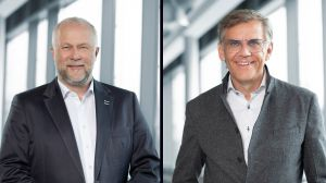 Frank Geisler (links) und Mathias Boenke Intersport