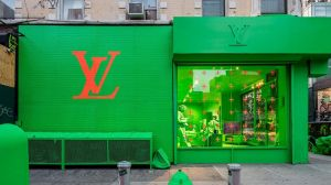 Funktioniert auf Instagram: der New Yorker Pop-up von Louis Vuitton