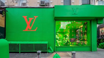 Funktioniert auf Instagram: der New Yorker Pop-up-Store von Louis Vuitton.