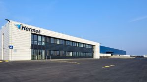 Hermes-Logistikcenter in Halle.