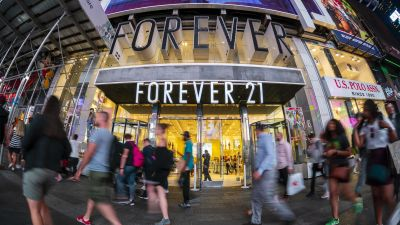 Der Forever21-Store am Times Square in New York
