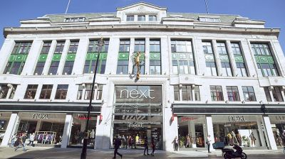 Next-Storen Oxford Street in London