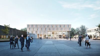 Rendering des neuen Autograph Collection Hotels in Metzingen