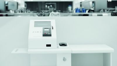 Self-Checkout-Kasse von Zara