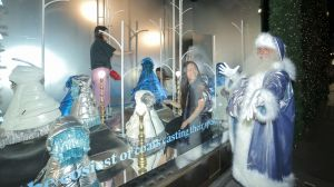 Selfridges Christmas-Schaufenster