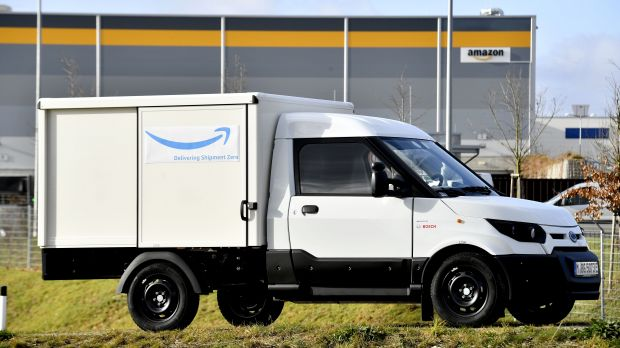 So sehen die Amazon-Streetscooter aus.