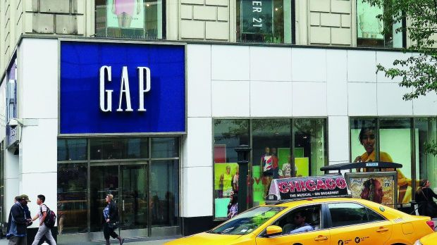 Gap-Store in New York