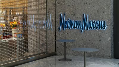 Neiman Marcus in der Hudson Yards Mall.